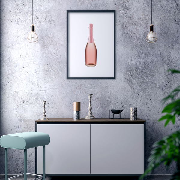 Poster Poster Poster A3 30x42cm Rosé Champagne 0388a6