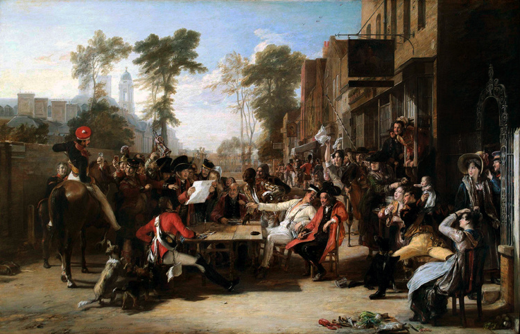 Chelsea Pensioners Reading the Gazette of,David Wilkie,60x40cm