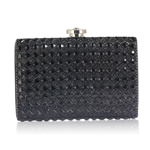 Woherrar Fashion Diamante Evening Clutch Cell & Card Holder Purse