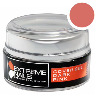 Extreme nails – cover gel dark pink 15g