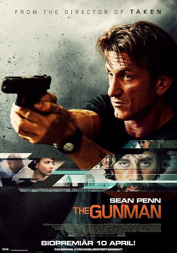 The gunman – dvd