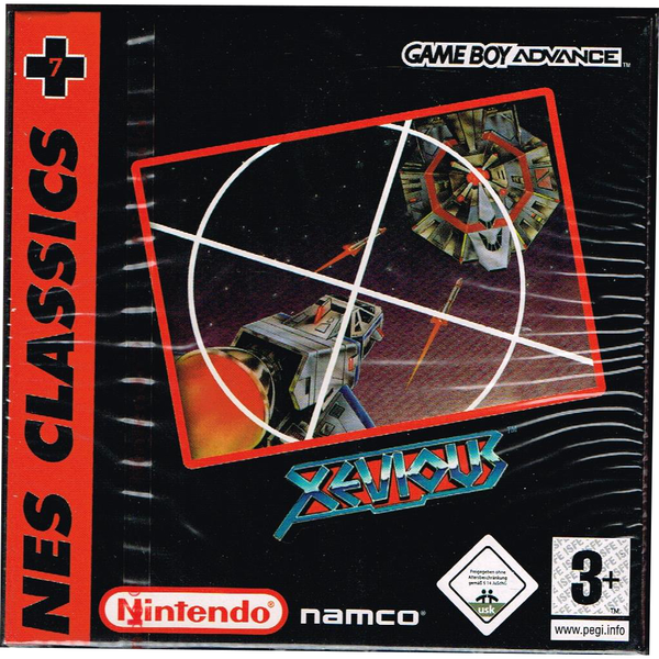 Xevious nes classics gameboy advance