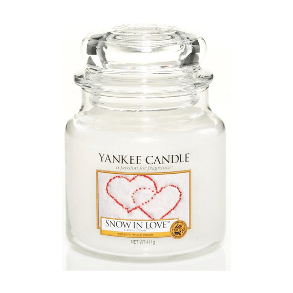 Yankee Candle Snow Snow Snow In Love Medium Jar b7c1cd