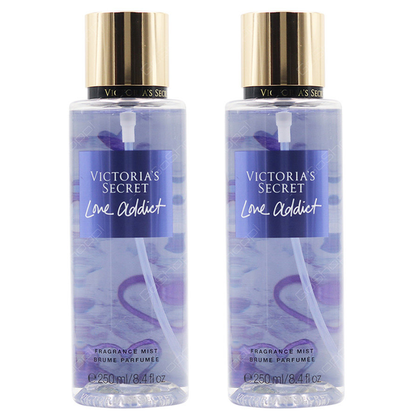 2-pack victoria´s secret love addict fragrance mist 250ml
