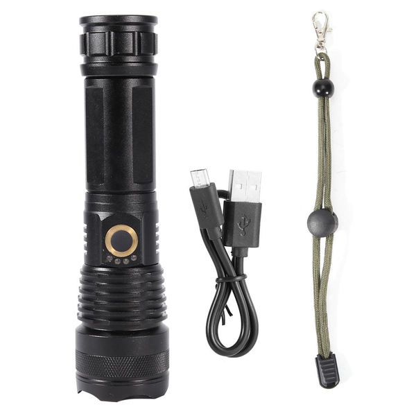 Super bright 1200lm led flashlight zoomable waterproof outdo