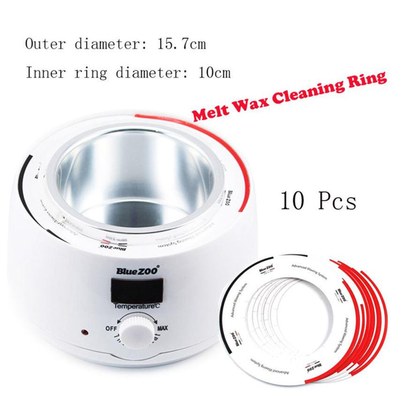 Melt wax cleaning ring pot tool hair removal cleaner