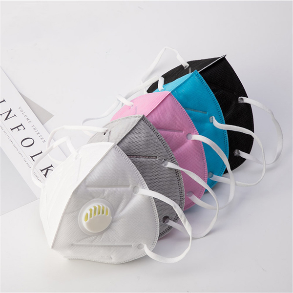 Pm2.5 mouth mask breath valve mouth respirator half face