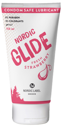 Nordic label fresh strawberry stor tub 150ml