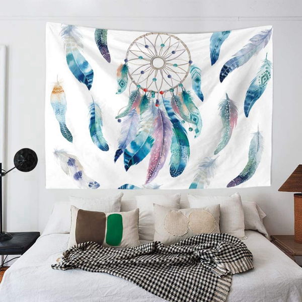 Wall hanging dream catcher wall tapestry hippie tapestry