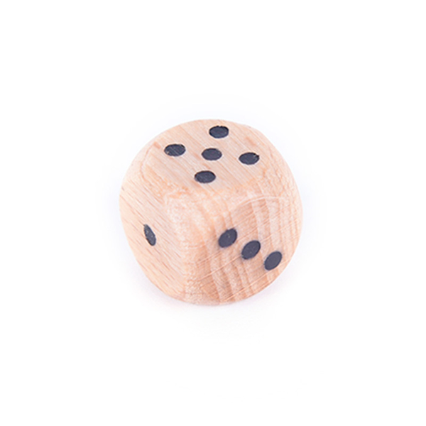 10pcs wood dice 12mm kid toys game 6 sided dice number or point