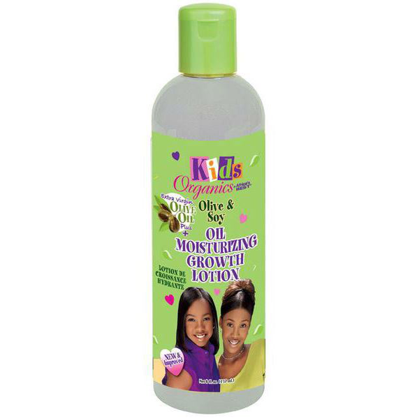Africa's best organics kids olive and soy oil lotion 237ml