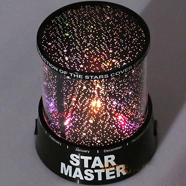 Romantic led cosmos star master sky starry night projector bed l