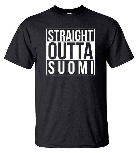T-shirt - Straight Outta Suomi - HERR