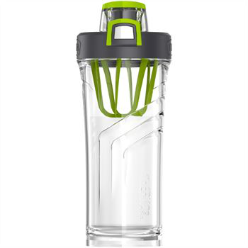 Shaker bottle 710ml made from bpa free one handed push button