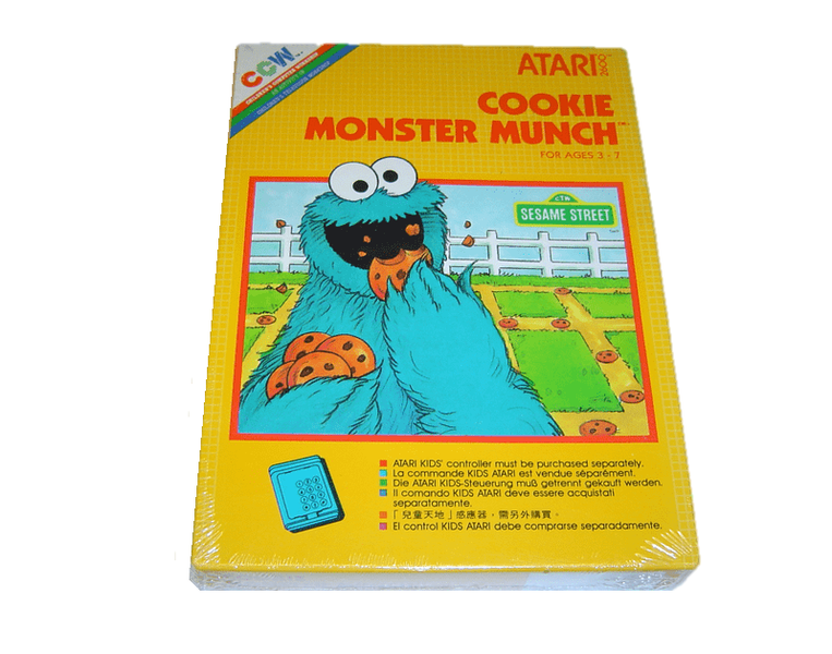 Cookie monster atari 2600