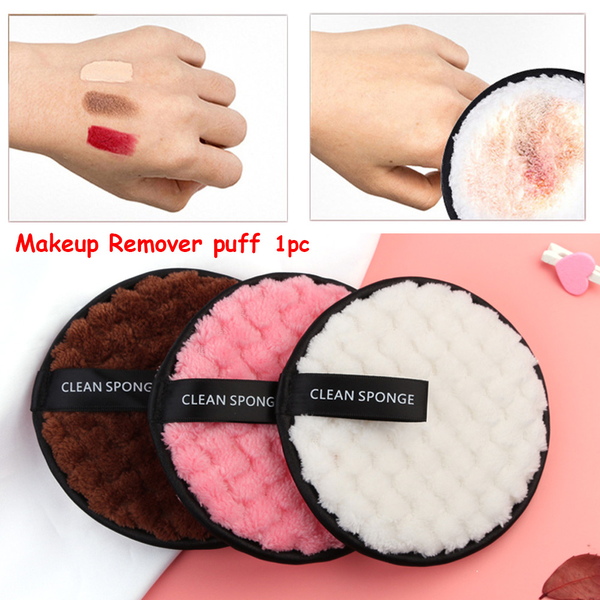 Makeup remover towel cleansing cloth pads face cleaner plush