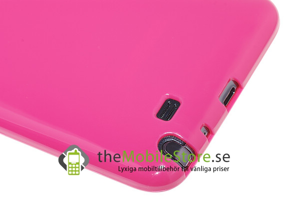 Flexicase skal till samsung galaxy note (pink)