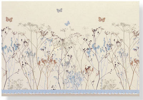 Note card butterflies by created by peter pauper press