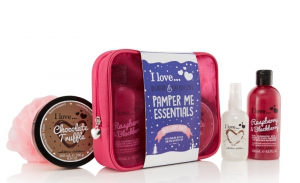 I love rasberry and chocolate mix giftset