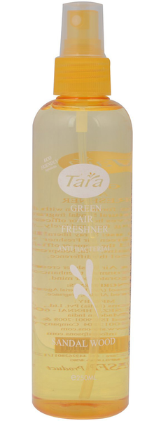 Tara green eco friendly air freshener room mist – sandal wood