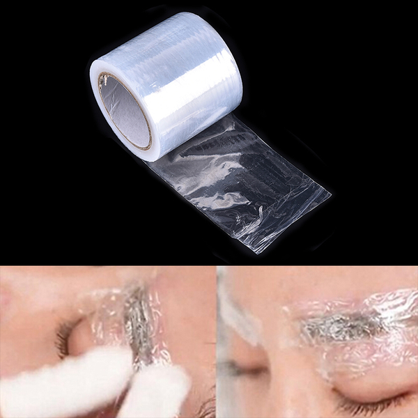 Special plastic tattoo cover wraps preservative film tattoos eye