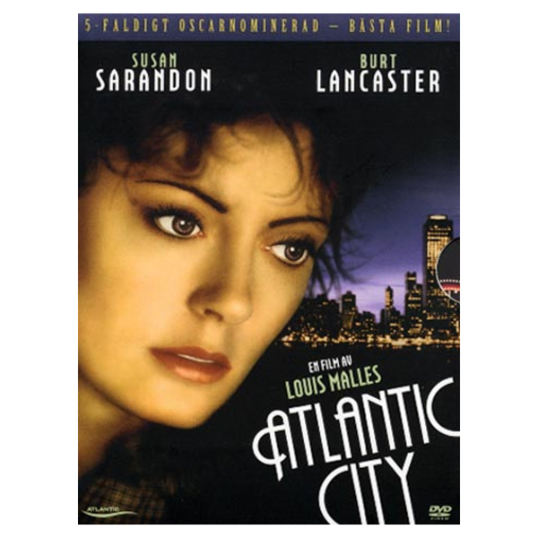 Atlantic city (dvd) drama med burt lancaster