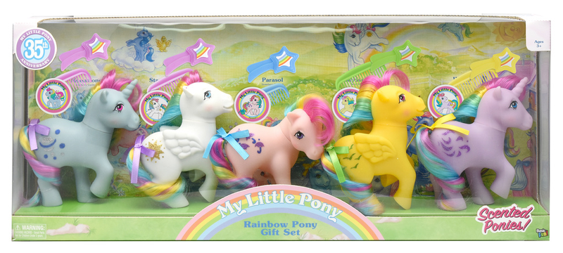 My Little Pony Retro Rainbow Pony Collection 5-pack