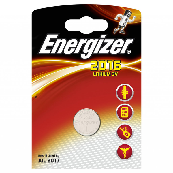 Energizer batteri cr2016 lithium 1-pack