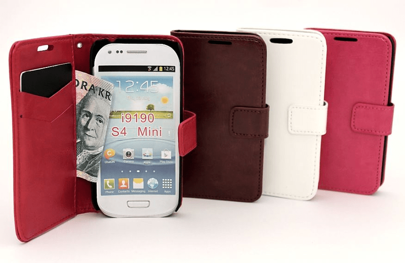 Standcase wallet samsung galaxy s4 mini (i9190)