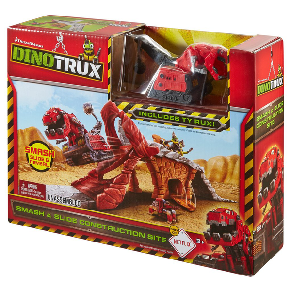 Dinotrux Smash and slide Construction site