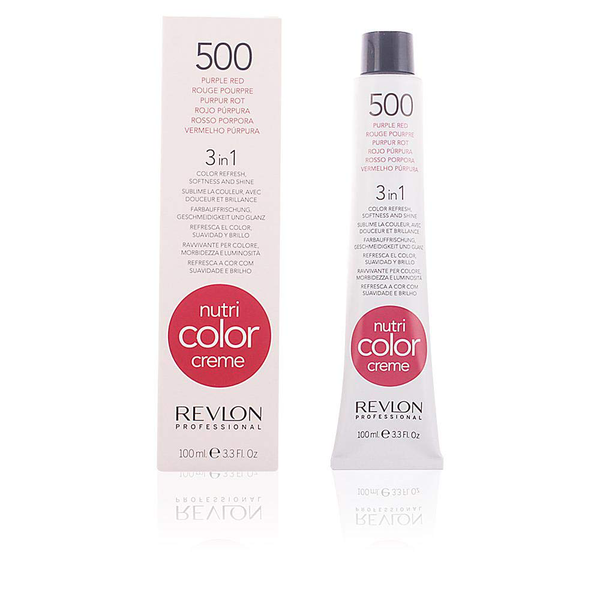 Nutri color creme no. 500 purple red for refreshing 100 ml