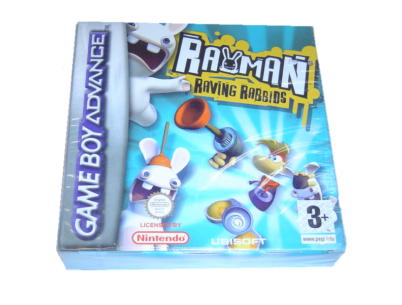 Rayman raving rabbids gba gameboy advance