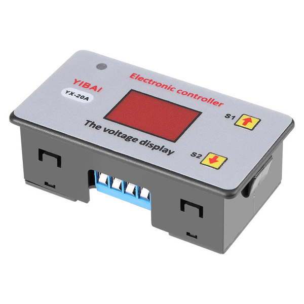 12v battery low voltage cut off automatic switch on protecti