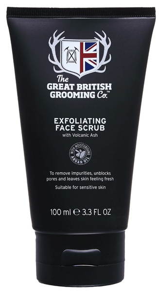 Great british grooming exfoliating face scrub 100ml