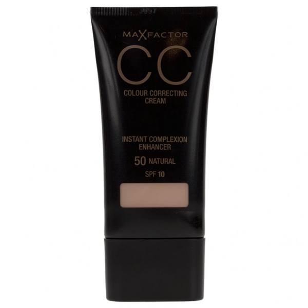 Max factor cc colour correcting cream spf 10 – natural
