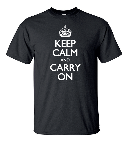 T-shirt - Keep Calm And Carry On - HERR