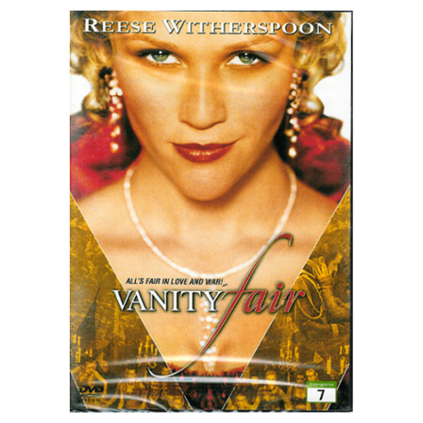 Vanity fair – dvd – drama med reese witherspoon