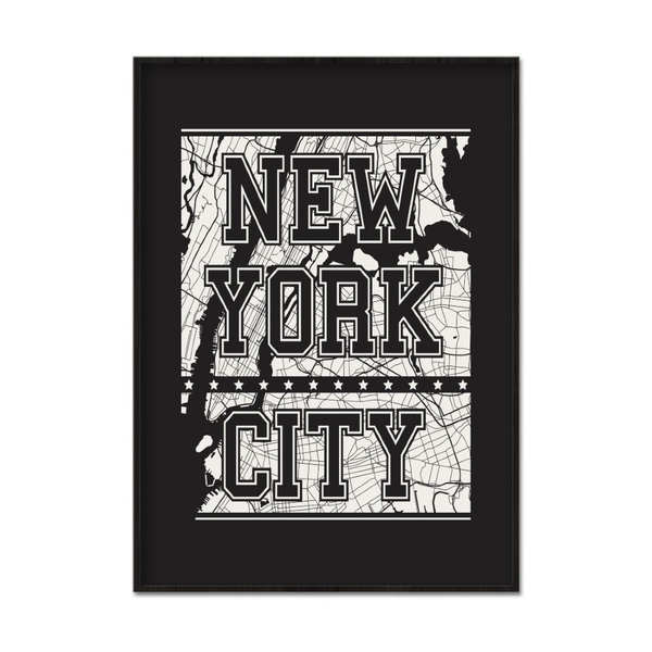 Poster A4 21x30cm We Love NYC