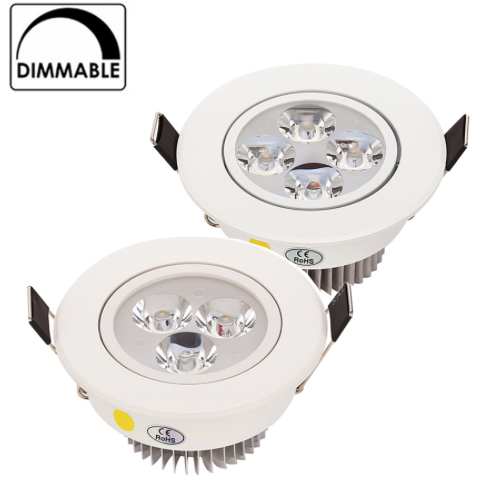 LED-downlight Dimbar Pure Pure Pure Vit 12W f50913