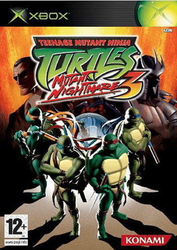 Teenage mutant ninja turtles 3: mutant nightmare – xbox