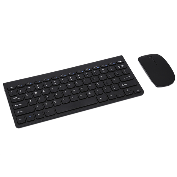 Unbranded Ultra slim thin wireless keyboard and mouse combo 2.4ghz kit for