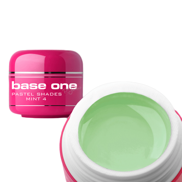 Base one – uv gel – pastel shades – mint – 04 – 5 gram