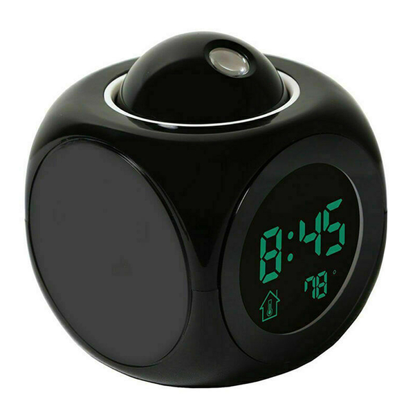 Unbranded Projection led wall/ceiling alarm clock