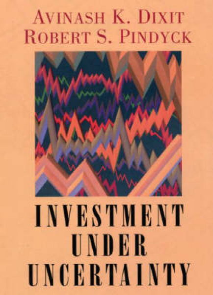 Investment under uncertainty by avinash k dixit