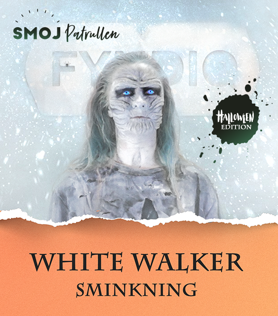 Tutorial - White Walker Sminkning