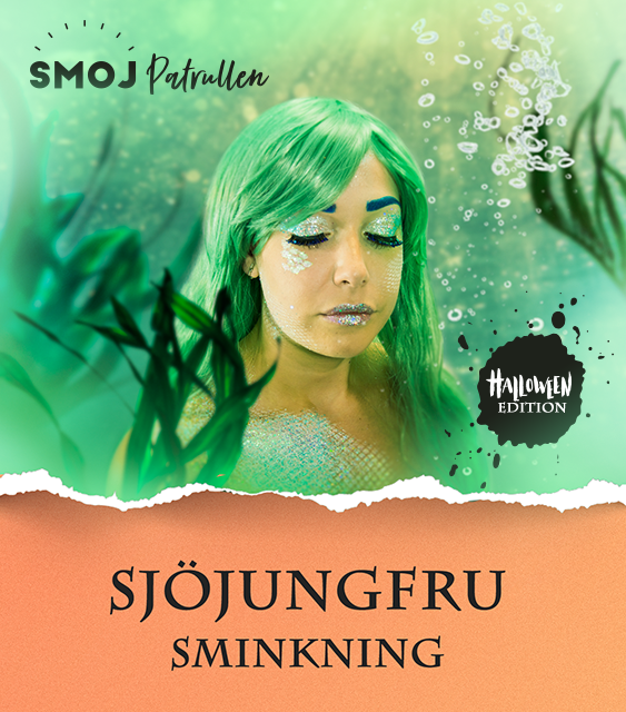 Tutorial - Mermaid Sminkning